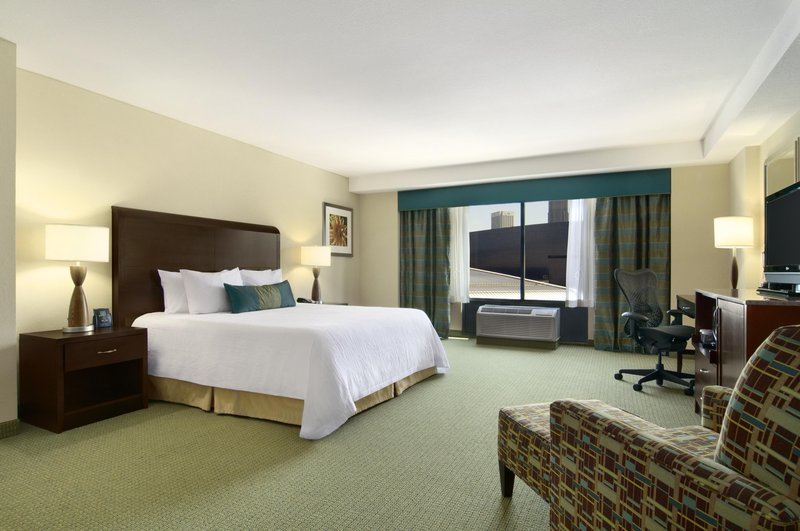 Hilton Garden Inn Atlanta Downtown View of room