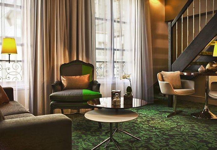 Renaissance Paris Hotel Le Parc Trocadero Zimmeransicht