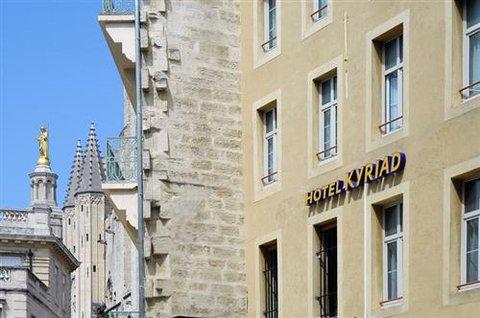 Hotel du Palais des Papes - Exterior View