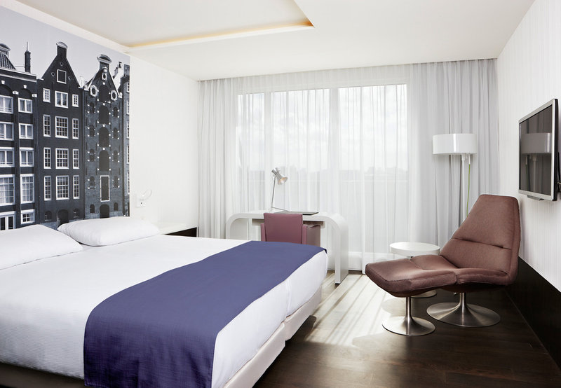 NH Amsterdam Grand Hotel Krasnapolsky Fasad