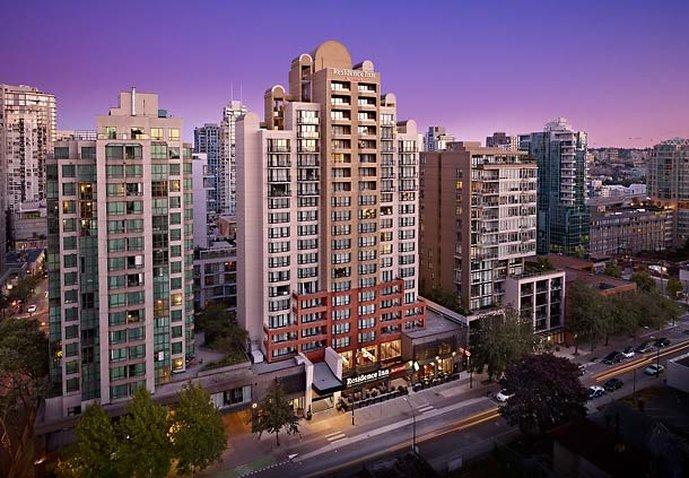 Residence Inn Vancouver Downtown Pohled zvenku