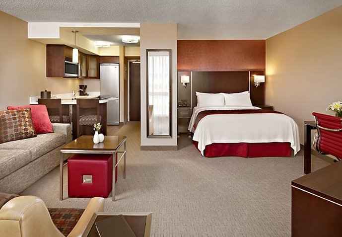 Residence Inn Vancouver Downtown Chambre