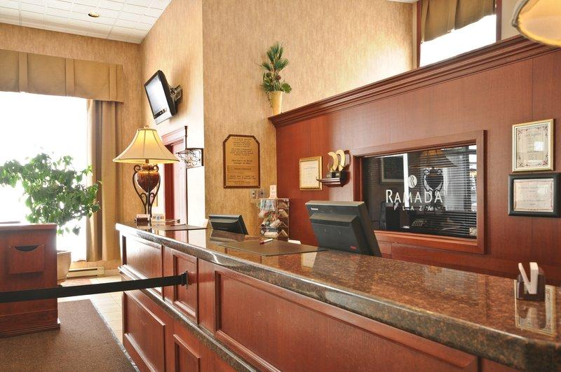 Ramada Plaza Manoir du Casino Lobby