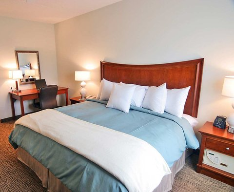 Homewood Suites by Hilton Albany Hotel - King Bedroom
