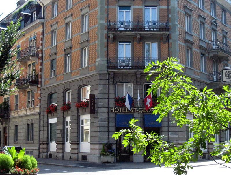 Hotel St. Georges Vista exterior