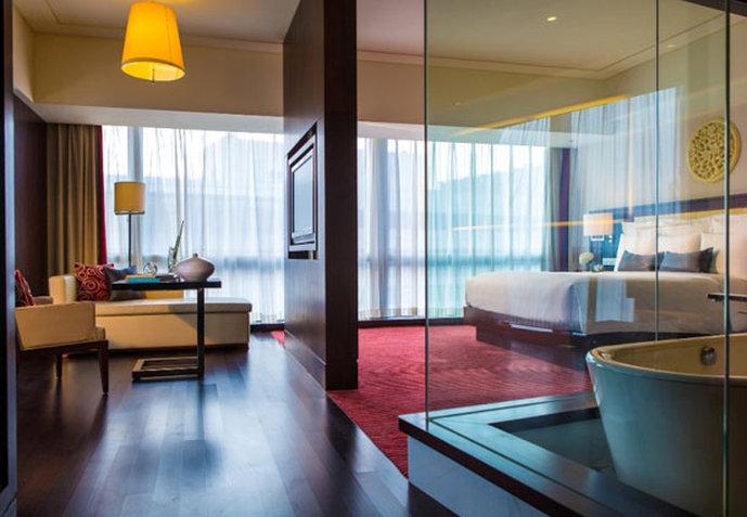 Renaissance Beijing Capital Hotel Vista de la habitación