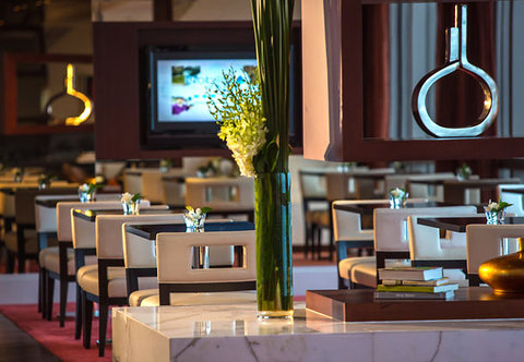 Renaissance Beijing Capital Hotel - Club Lounge   Dining Area