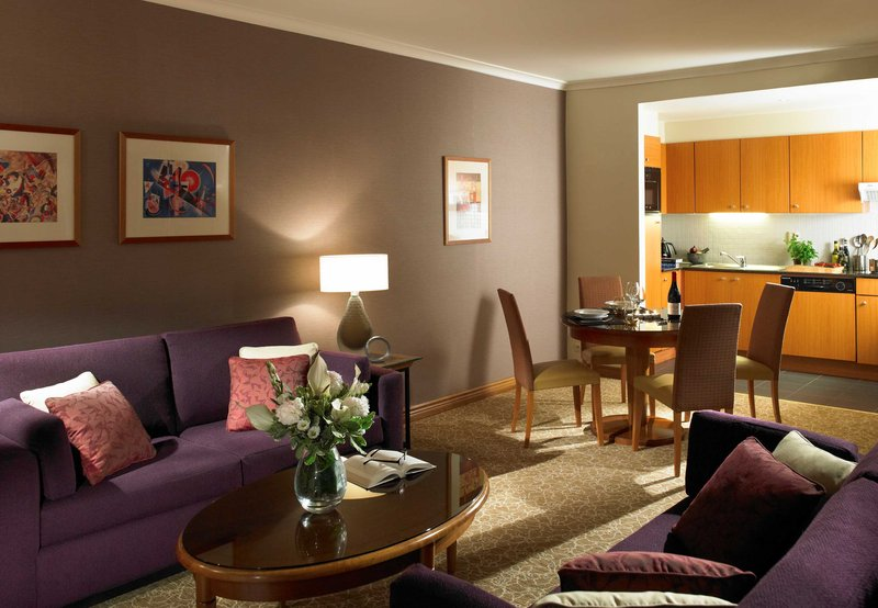 Marriott Executive Apartments Brüssel Zimmeransicht