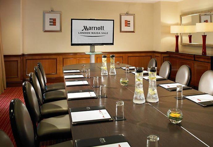 London Marriott Hotel Maida Vale Konferensrum