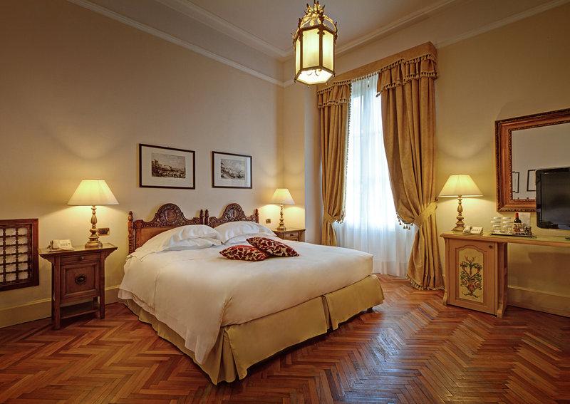 San Domenico Palace Hotel Vista de la habitación