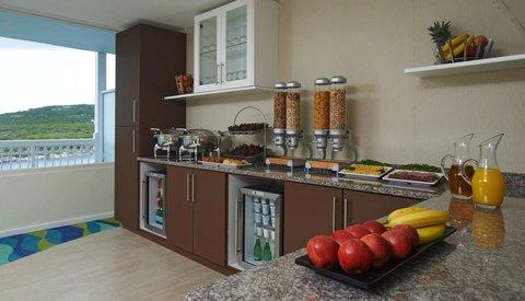 Curacao Hilton Hotel - Executive Lounge Buffet