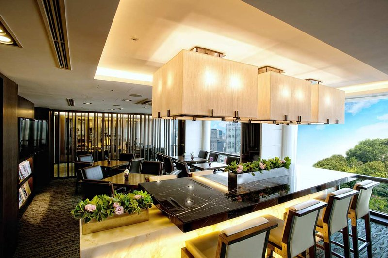 Millennium Seoul Hilton Hotel Sala klubowa