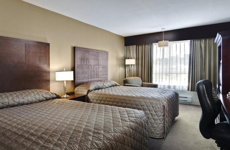 Sandman Hotel Langley 客房视图