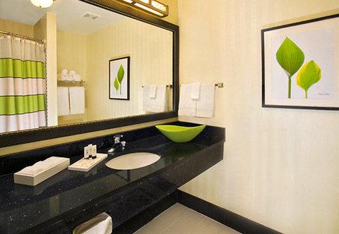 Fairfield Inn & Suites Albany - Suite Vanity