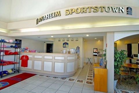 Best Western Sportstown - Lobby