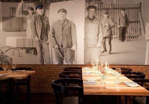 فندق ماريوت هامبورغ - Speicher 52   Restaurant Artwork