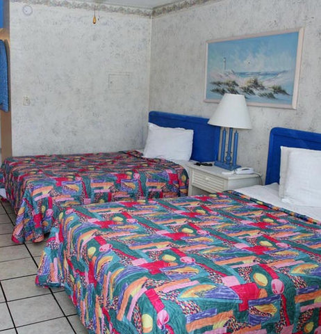 Daytona Inn Beach Resort - Blue Two Beds