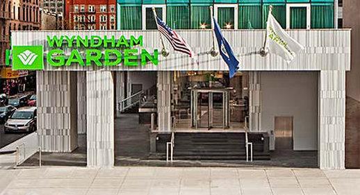 Wyndham Garden Chinatown Fasad
