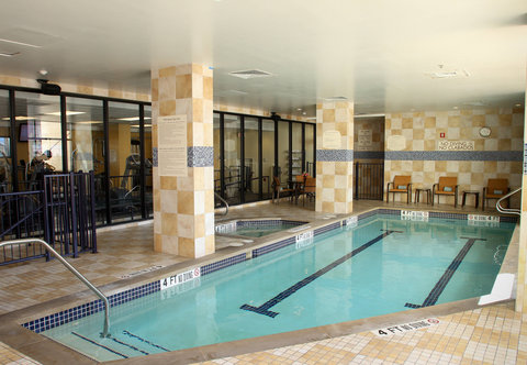 Courtyard By Marriott Austin Downtown/Convention Center Hotel - Indoor Pool