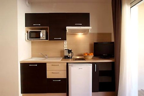 Domaine de la Vallee d'Ax - kitchenette