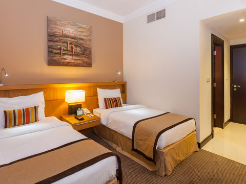 Flora Park Deluxe Hotel Apartments - Twin Bed