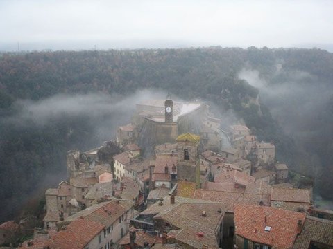 Hotel Della Fortezza - View of the old village from the room