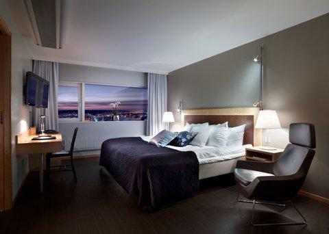 Gothia Towers - Junior Suite Bedroom Gothia Towers Gothenburg