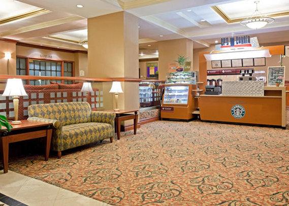 Crowne Plaza Hotel Secaucus-Meadowlands Előcsarnok