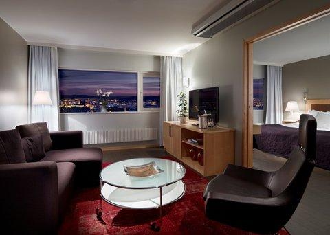 Gothia Towers - Junior Suite Living Room at Gothia Towers