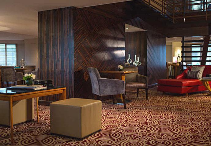 Renaissance Yangtze Shanghai Hotel Sala klubowa