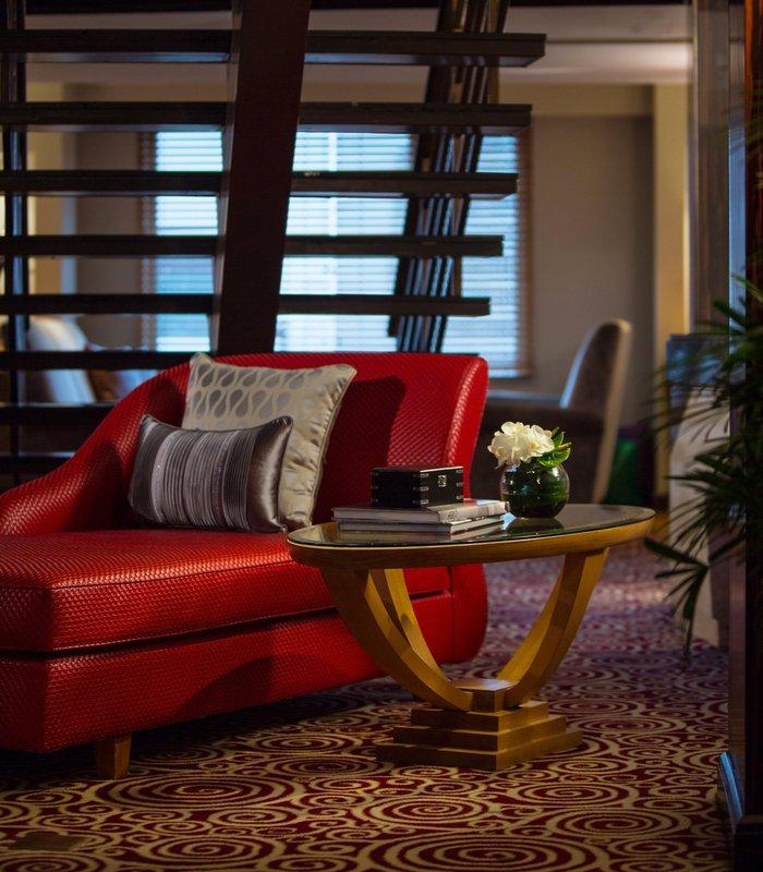 Renaissance Yangtze Shanghai Hotel Bar/salónek
