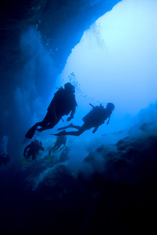 Small Hope Bay Lodge, Andros Island - Diving the Blue Hole