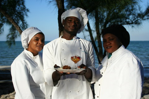 Small Hope Bay Lodge, Andros Island - Our culiary team