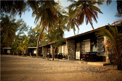 Small Hope Bay Lodge, Andros Island - Exterior of the Cabins