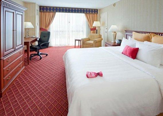 Crowne Plaza Hotel Secaucus-Meadowlands Szobakilátás