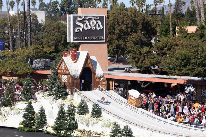Saga Motor Hotel - Pasadena, CA
