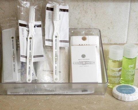 BEST WESTERN Hotel Conde Duque - Bathroom Amenities