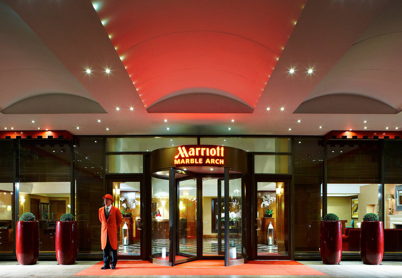 London Marriott Hotel Marble Arch Außenansicht