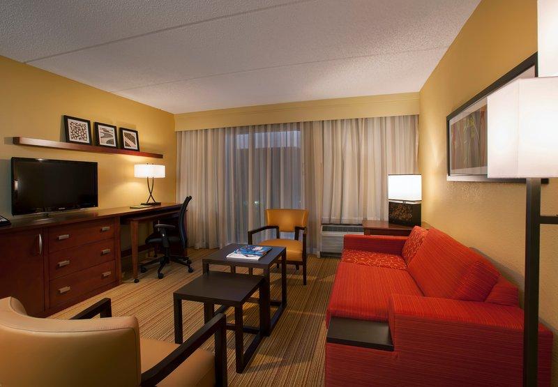 Hotel Courtyard Miami Aventura Mall Zimmeransicht