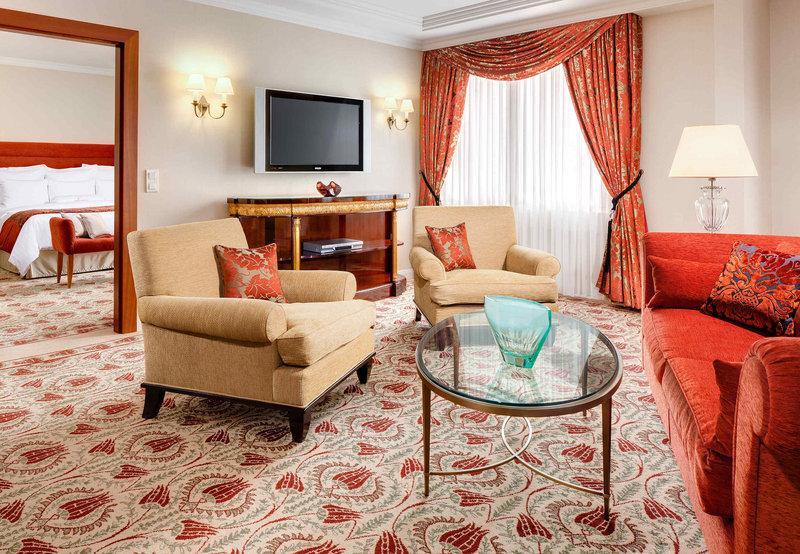 Prague Marriott Hotel Odanın görünümü