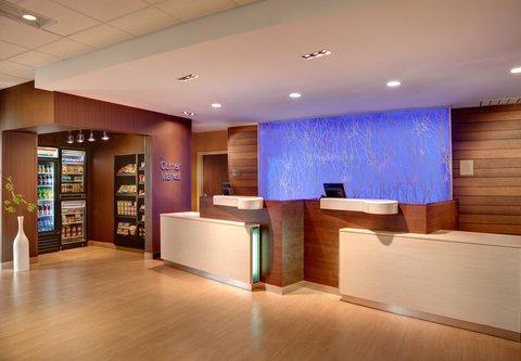 Fairfield Inn & Suites Towanda Wysox - Front Desk   Corner Market
