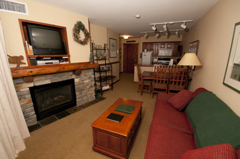 Highland House - Living Area