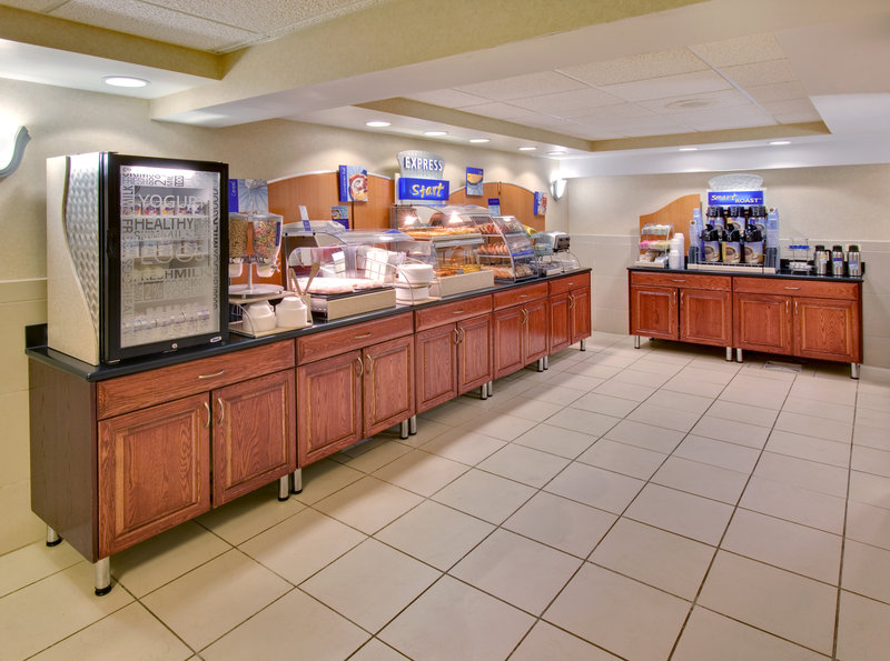 Holiday Inn Express Chicago-Downers Grove Ravintolat