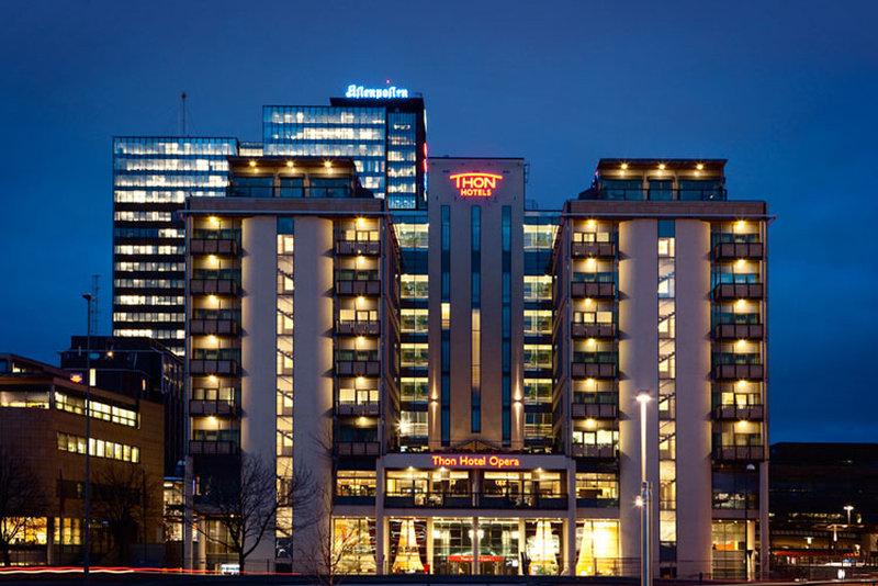 Thon Hotel Opera Dış görünüş