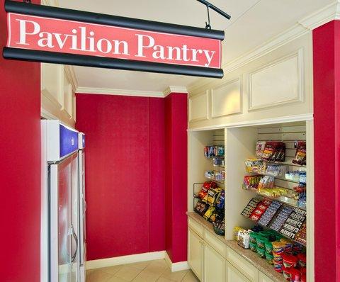 希爾頓黑得希爾頓花園酒店 - Pavilion Pantry
