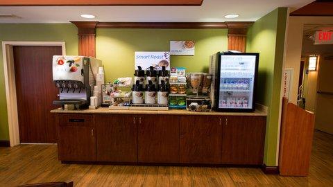 Holiday Inn Express Hotel & Suites Centerville - Breakfast Bar