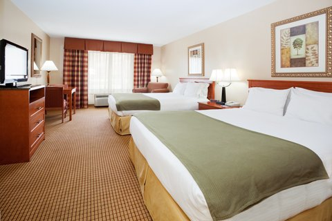 Holiday Inn Express GLENWOOD SPRINGS (ASPEN AREA) - Queen Bed Guest Room