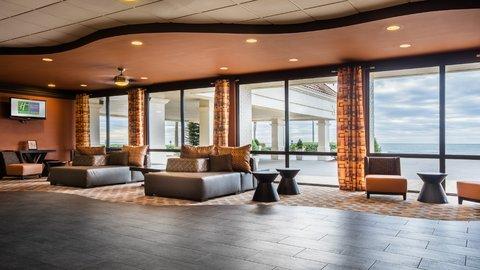 Holiday Inn Resort GALVESTON-ON THE BEACH - Hotel Lobby