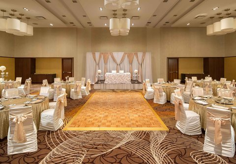 Courtyard By Marriott Calgary Airport Hotel - Stampede Ballroom - Social Event