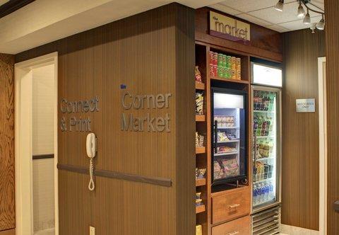 Fairfield Inn & Suites Dallas North by the Galleria - The Corner Market
